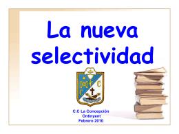 Diapositiva 1 - Colegio La Concepción