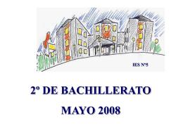 2º BACHILLERATO - Educastur Hospedaje Web
