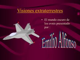 Visiones extraterrestres