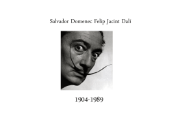 Salvador Domenec Felip Jacint Dalí