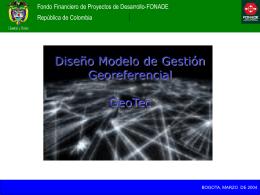 Modelo y Estructura de GeoTec
