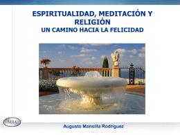 Espiritualidad y Felicidad