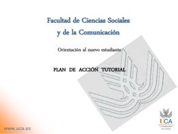 Facultad de Ciencias Sociales y de la Comunicación