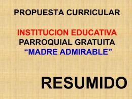 (proceso) y - mi centro educativo