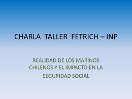 charla taller fetrich – inp