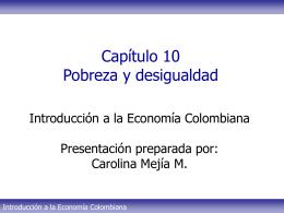 Tema 10 - Pobreza y desigualdad