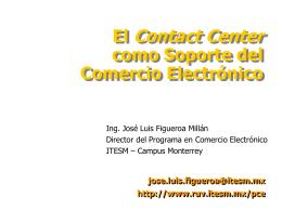 Contact Center como Apoyo al Comercio Electrónico