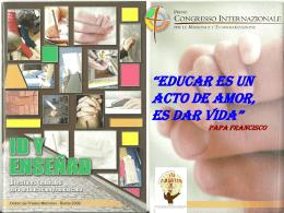 """""""Id y Enseñad"""" DIRECTRICES GENERALES PARA LA"""