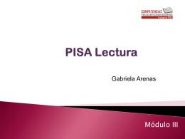 Módulo III: PISA Lectura