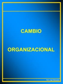 Cambio Organiz..