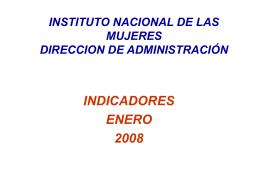 EVENTOS - Instituto Nacional de las Mujeres