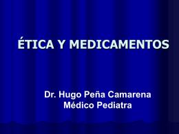 Ética y medicamentos curso CMP