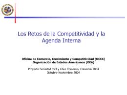 OEA Agenda interna