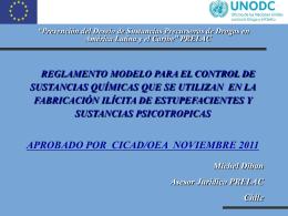 pres. Regl. Modelo Uruguay. 2013