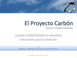 The Carbon Project