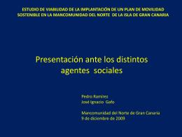 Diapositiva 1 - Mancomunidad de Ayuntamientos del Norte de Gran