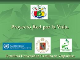 Proyecto de Prevención del uso de Drogas y