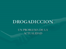 DROGADICCION - TIC3-301
