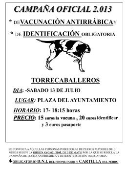 Sin título de diapositiva - Ayuntamiento Torrecaballeros