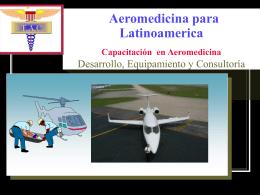 Aeromedicina para Latinoamerica Presentacion 2008 - E