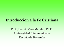 Presentación # 1 - Universidad Interamericana de Puerto Rico
