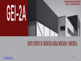 presentacion logistica2 - Gei-2a