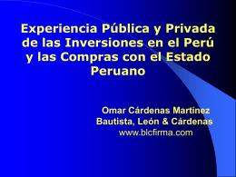 Inversiones en Peru