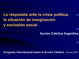 Presentacion AC Argentina  - Foro Internacional de Acción