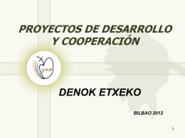 DENOK ETXEKO - Hermanas Pasionistas