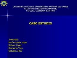 Presentación Mercado Spot – María Argelia Jaspe