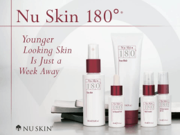 No Slide Title - Nu Skin Force for Good Foundation