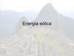Energía eólica - Guardian del Planeta