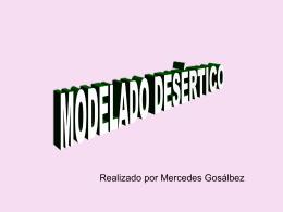 Modelado desértico - pagina mercedes gosálbez