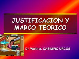 Justificacion y Marco Teórico (568320)