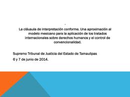 Presentación Tamaulipas DR. CABALLERO 2