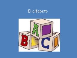 El alfabeto - SpanishLanguageWiki