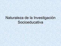 1Naturaleza de la investigación