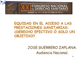perspectiva jurisprudencial - Asociación Española de Derecho