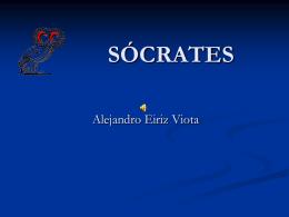 Sócrates - ALEJANDRO EIRIZ VIOTA