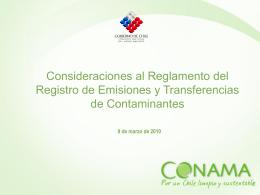 Presentación Marcos Serrano - Ministerio del Medio Ambiente