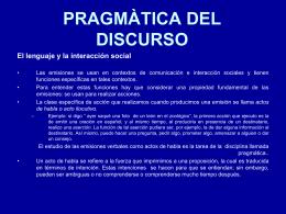 Pragmática discursiva