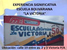 E. B. La Victoria