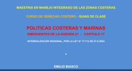POLITICAS COSTERAS.AGENDA 21