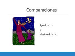 Compariciones - SpanishLanguageWiki