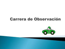 Carrera de Observación electronica
