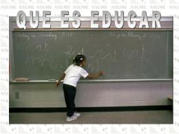 Tema 18 - Educar