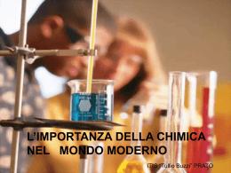 CHIM_importanza della chimica