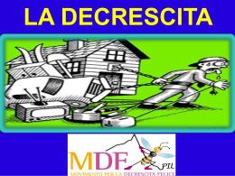 decrescita MDF breve per le scuole (40 min)