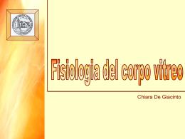Fisiologia del corpo vitreo