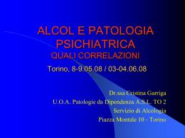 Aspetti patologici e problemi di valutazione